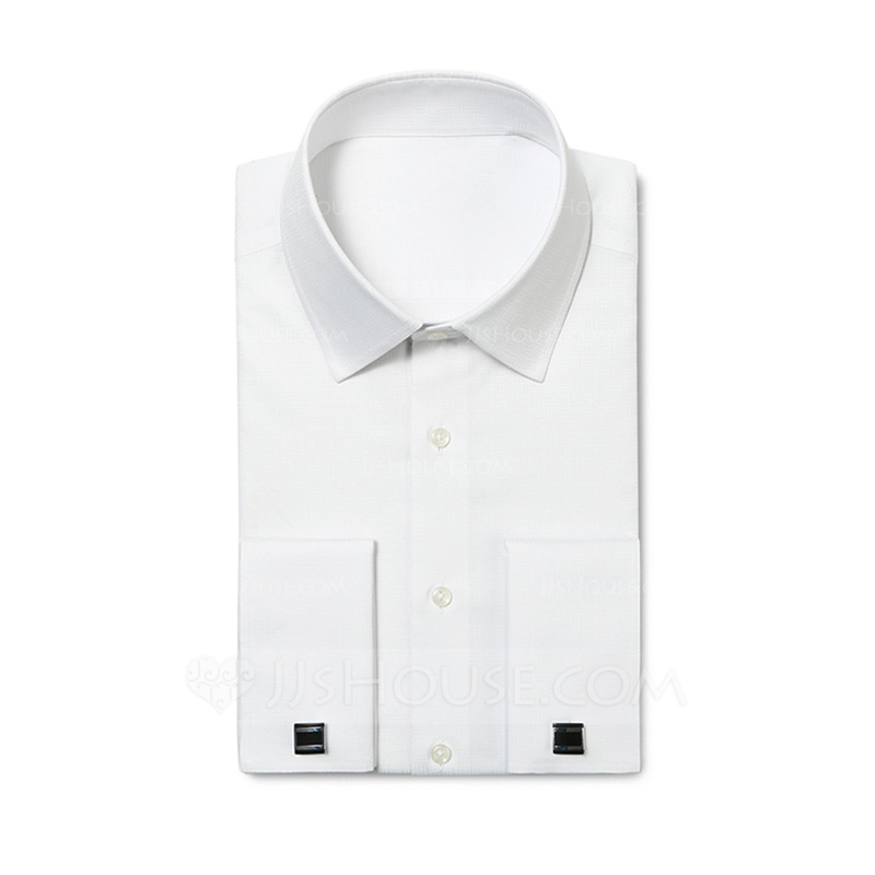 Formal Textured Dress Shirts