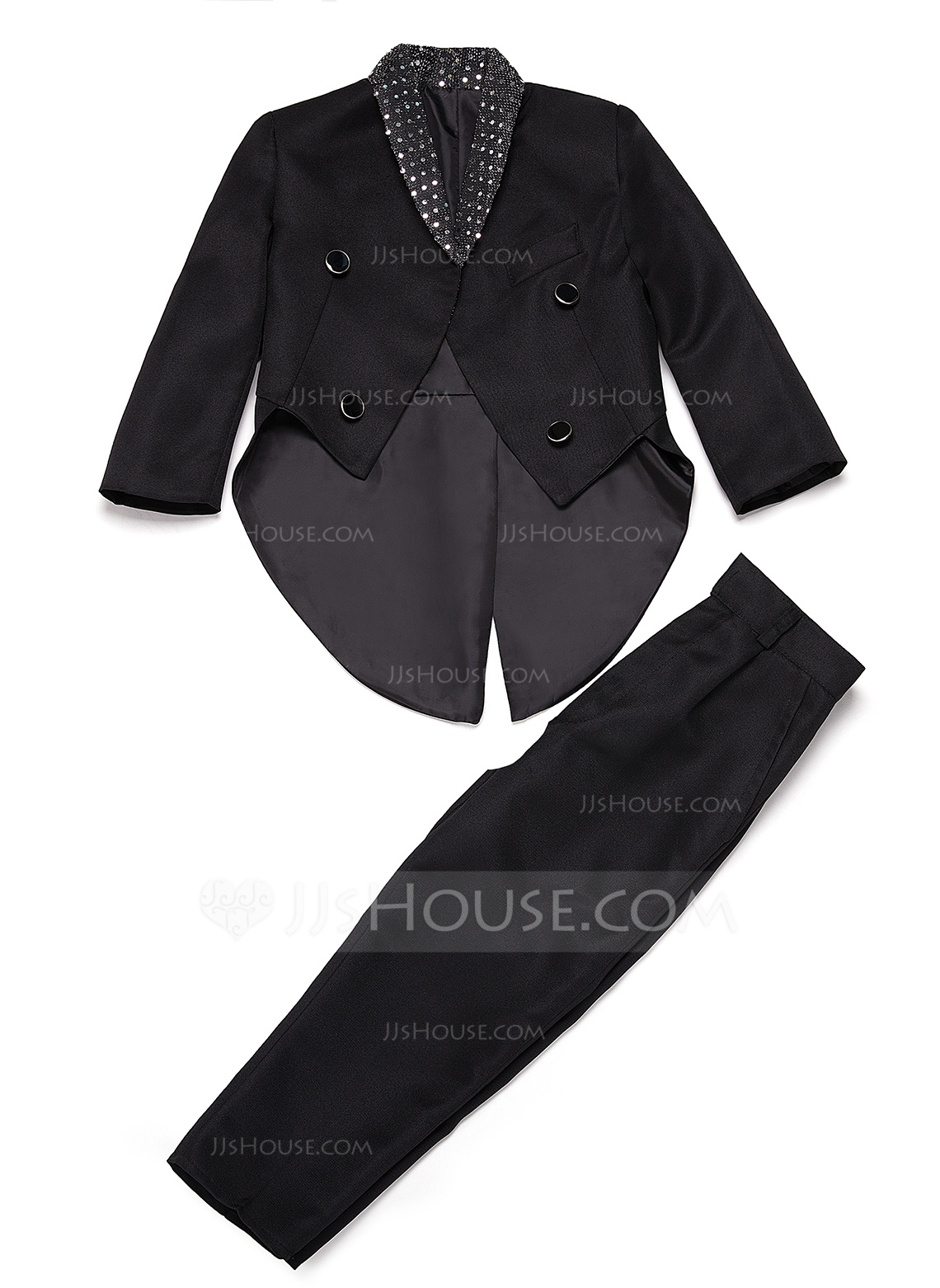 Boys 2 Pieces Elegant Ring Bearer Suits /Page Boy Suits With Jacket Pants