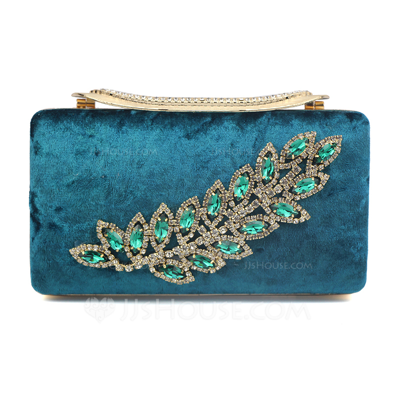 Elegant/Gorgeous/Classical/Refined/Bright Flannelette Material Clutches/Evening Bags
