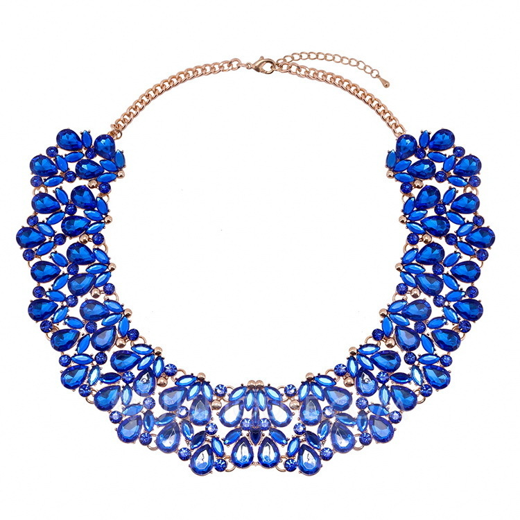 Fashional Alloy Glass Women's Fashion Necklace