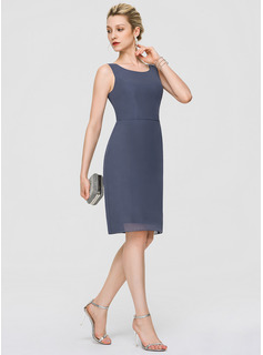 navy high neck long dress