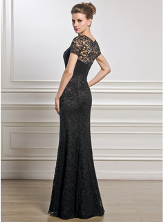 a79a1f182b330 ... Trumpet/Mermaid Scoop Neck Floor-Length Lace Mother of the Bride Dress  ...