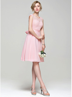 short junior bridesmaid dresses champagne