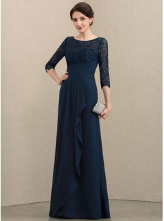modest navy blue prom dresses