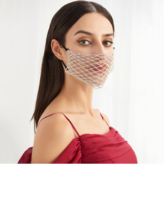 Non-Medical Rhinestones Reusable Face Masks With Adjustable Loop