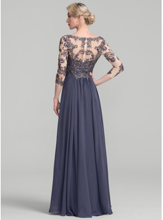 black a line evening dresses