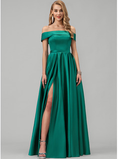 satin evening gowns dresses