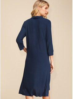 long gold dress with sleeves