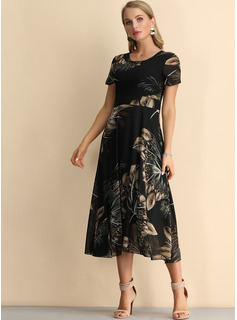 long coral party dress