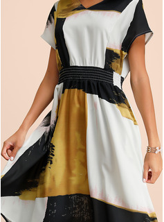 long gold dresses with sleeves