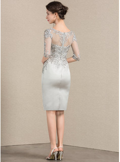 champagne evening dress two piece