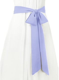 gray wedding dress sash