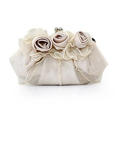 Gorgeous Silk/Tulle Clutches/Satchel/Bridal Purse/Evening Bags