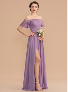 3/4 sleeve long bridesmaid dresses