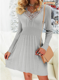 short lace dress plus size
