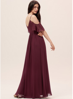 prom gown chiffon maxi dress