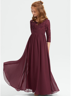 floral lace dress chiffon