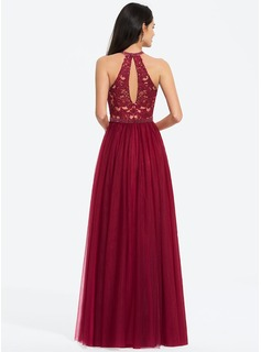tea length bridesmaid dresses burgundy