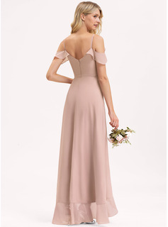 illusion long formal dress