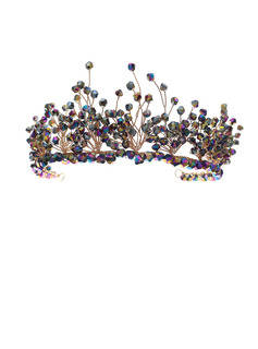Ladies Beautiful Crystal Tiaras With Crystal (Sold in single piece)