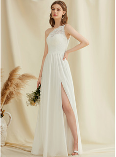 long white chiffon dresses