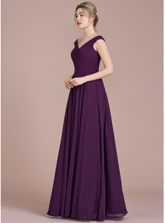chiffon casual sleeve long dress