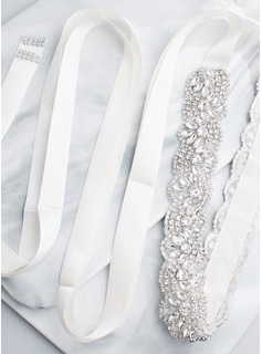Beautiful/Stylish/Exquisite Satin Sash With Rhinestones