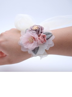 Hand-tied Wrist Corsage -