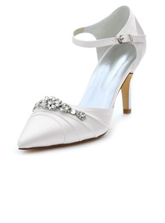 silver rhinestone dress shoes