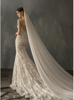 floor length wedding gown