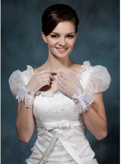 Voile Wrist Length Party/Fashion Gloves/Bridal Gloves