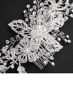 Glamourous Alloy/Imitation Pearls Combs & Barrettes (Sold in single piece)