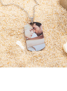 Custom Engraving/Engraved Tag Mens Necklace Color Printing Photo Necklace - Mother's Day Gifts