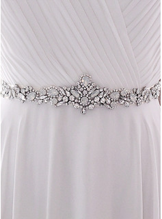 rhinestone dress sash