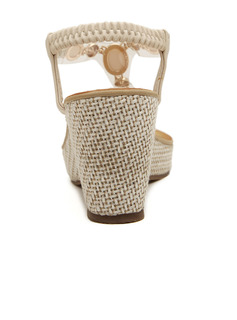 dress sandals champagne color