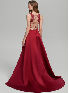 red strapless formal dresses
