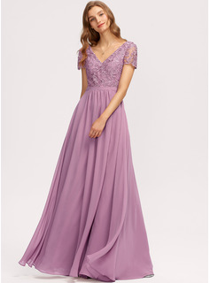 lace tea length dress pink