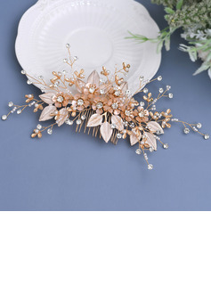 Ladies/Kids Beautiful Crystal/Rhinestone/Alloy/Imitation Pearls/Artificial Silk Combs & Barrettes With Rhinestone/Pearl/Venetian Pearl/Crystal/Imitation Crystal (Sold in single piece)