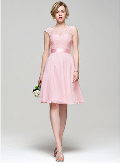short high neck bridesmaid dresses