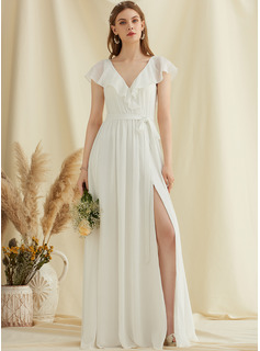 long white cheap dresses