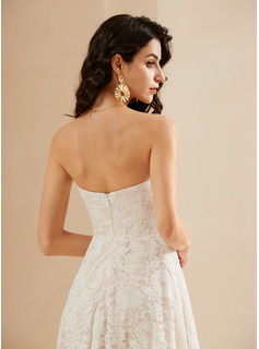 off white lace cocktail dress