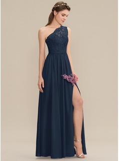 navy blue formal dress