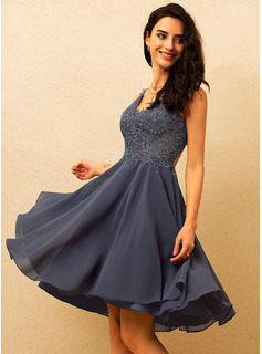 blue satin prom dress long