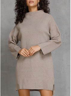 gray dress sweater
