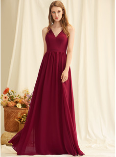 red long semi formal dresses