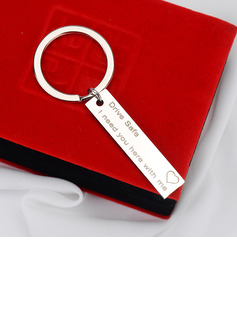 Drive Safe Stainless Steel Keychains