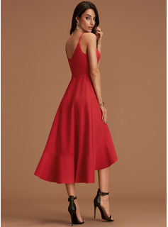 red long ball gown dresses
