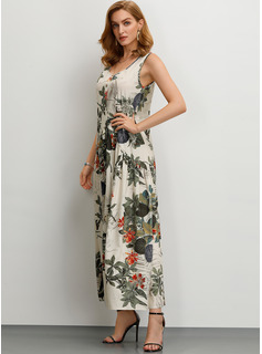 long chiffon dresses with sleeves