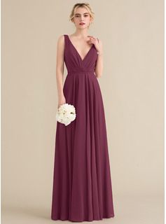 hunter green chiffon bridesmaid dresses