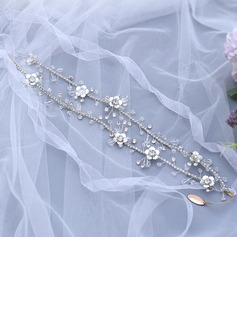 Ladies/Kids Beautiful Crystal/Rhinestone/Alloy Headbands With Rhinestone/Pearl/Crystal (Sold in single piece)